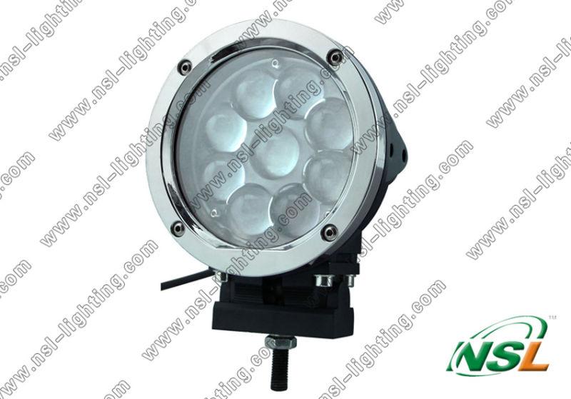 10-80V 9PCS * 5W CREE 45W LED Working Light Spot or Flood (NSL-4509R-45W)