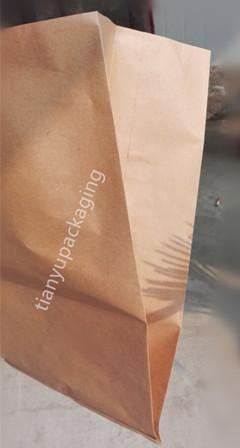 Kraft Paper Waste Bag for Bin Yard Leaf Trash Bag