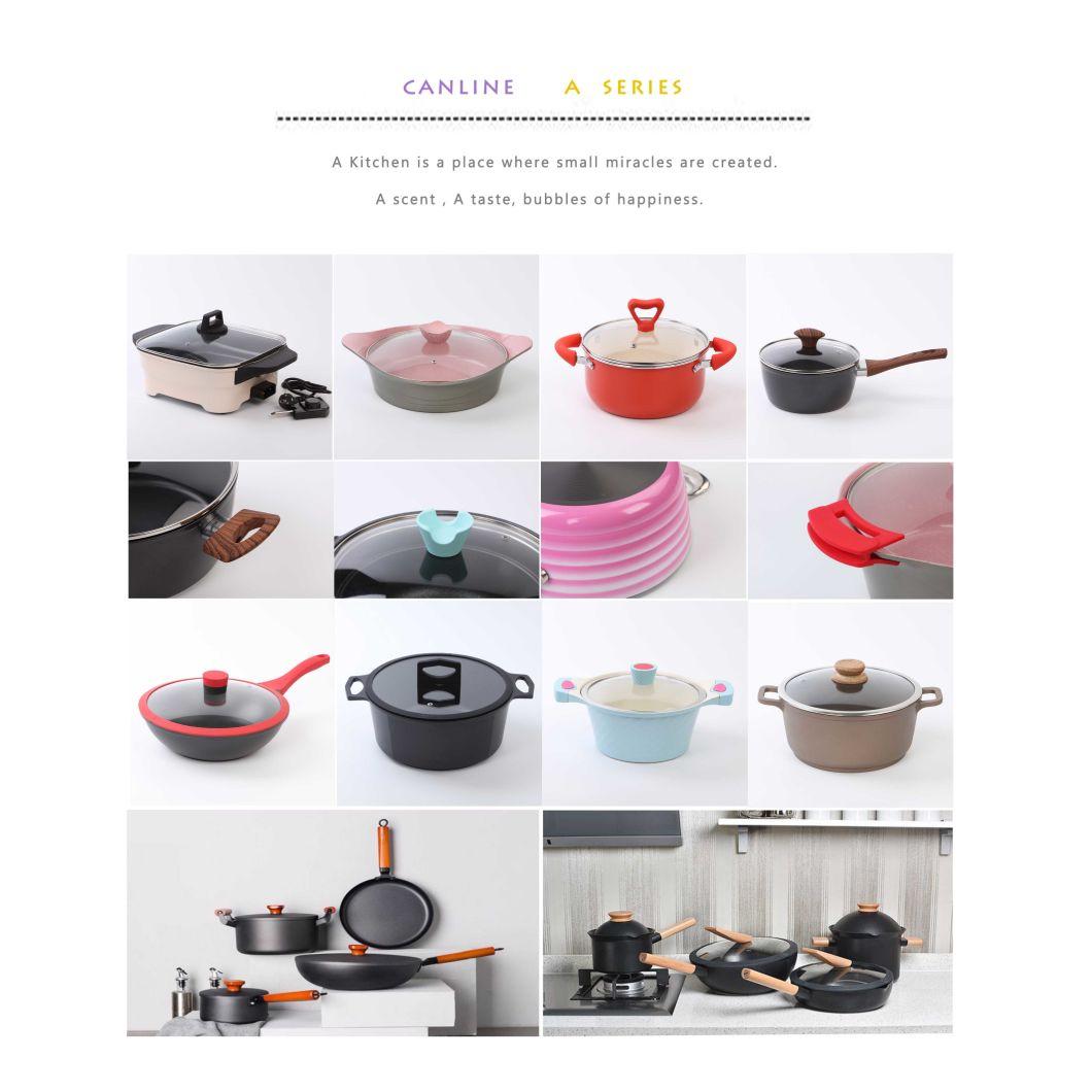 8PCS Aluminum Die-Casting Nonstick Casting Cookware (CLA004 SERIES)