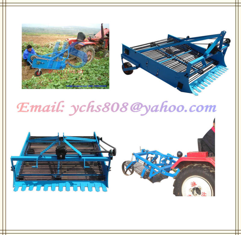 Farm Machinery Potato Digger Jm Tractor Mounted Potato Harvester