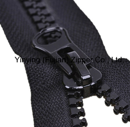 10# Plastic Zipper, Zipper with Double Slider