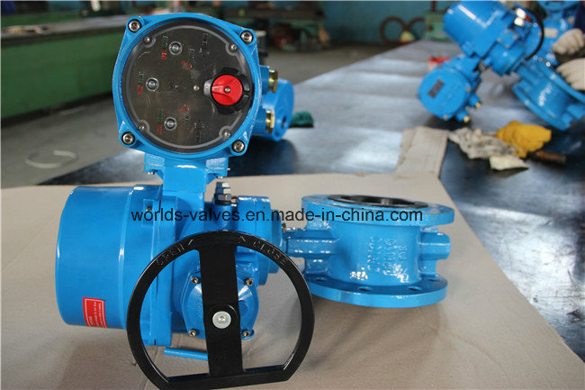 Electrical Double Flange Butterfly Valve (D941X-10/16)