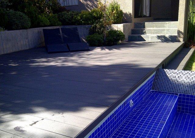 Experienced Manufacturer Waterproof WPC Swimming Pool Deck