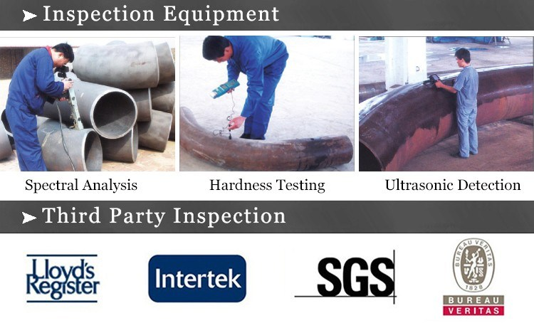 Carbon Steel ASTM A234 Wpb 180 Degree Hot Induction Bend