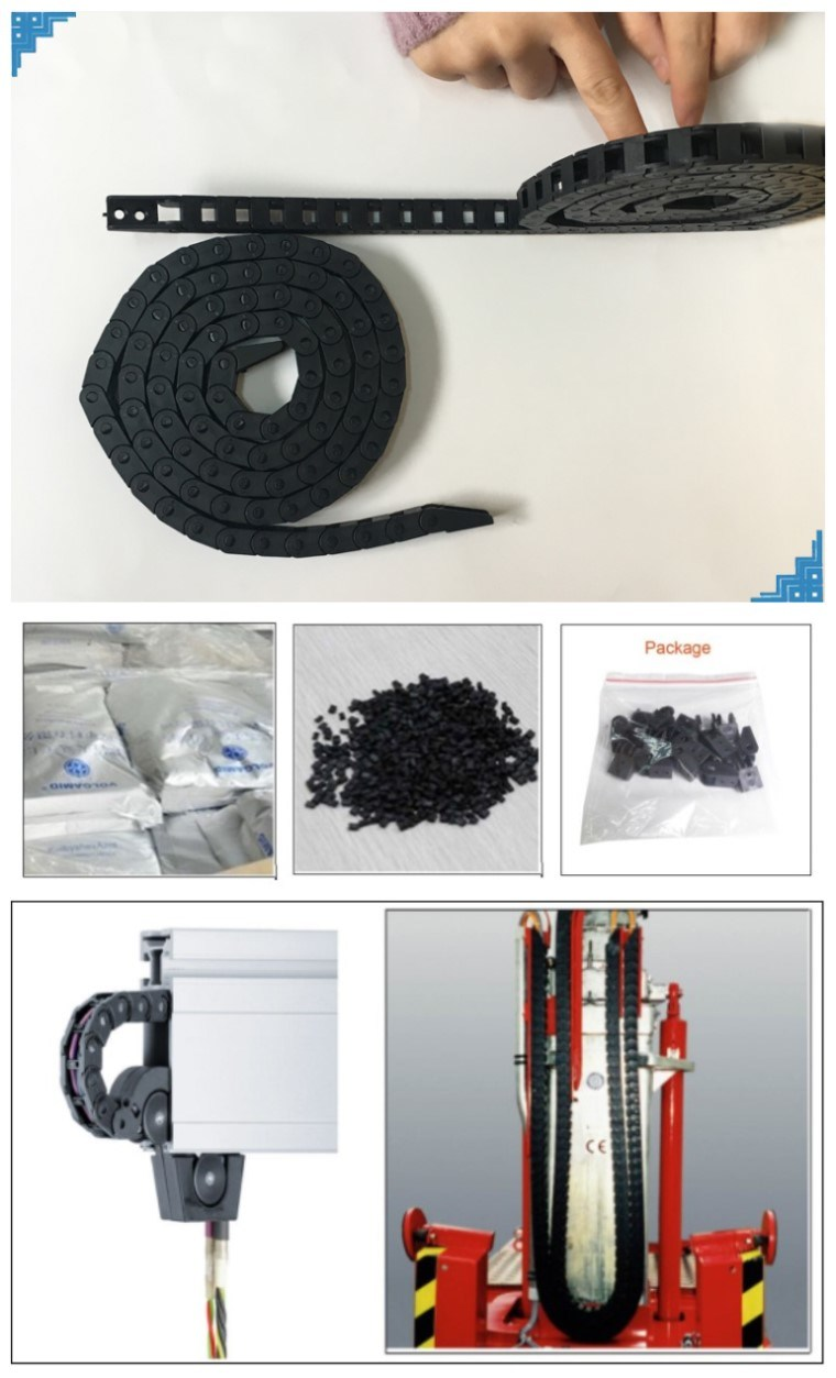 10 Series Engineering Plastic Cable Drag Chain Cable Wire
