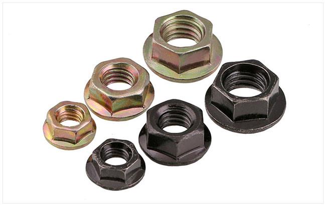 DIN 6923 Zinc Plated Hexagon Flange Nut