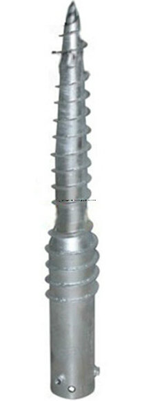 HDG Solar Mounting Ground Anchor, Ground Screw