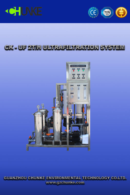 Hot Sell Water Treatment Equipment with UF Water System