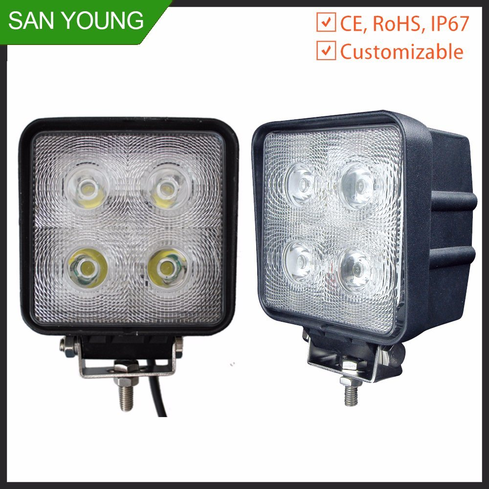 CREE 40W 4 LED 4000 Lm CREE LED Work Light off-Road Driving Lamp Cars Work Light