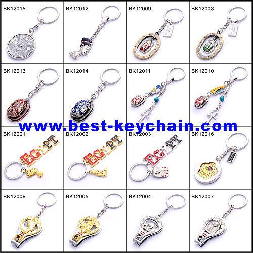 UK Flag Dice England Spinning Souvenir Metal Key Holder (BK10723)