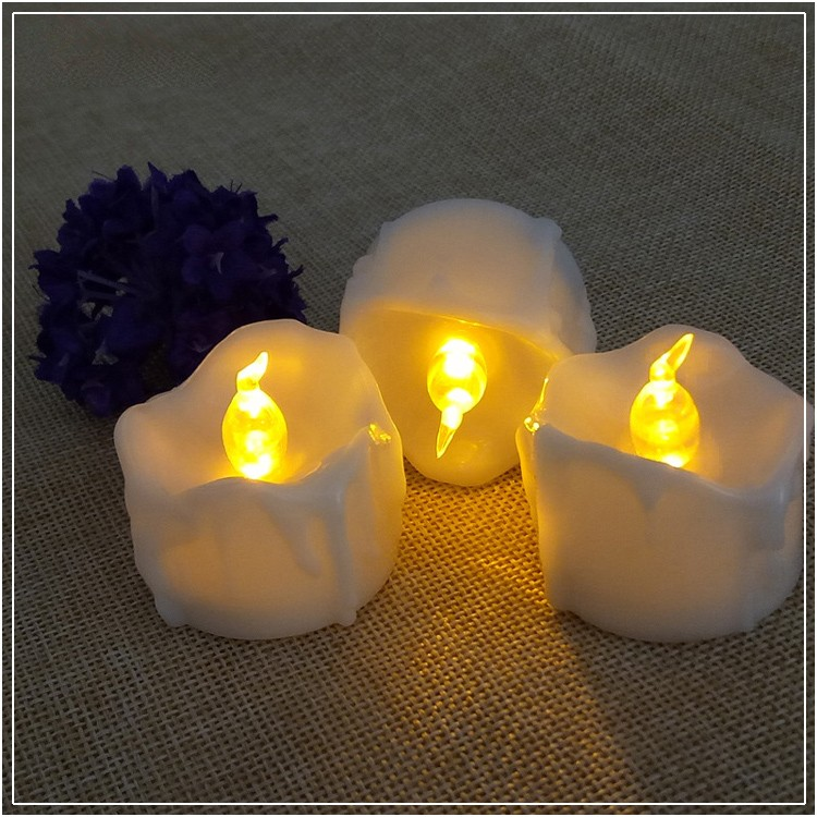 Flickering Flameless Led Tea Light