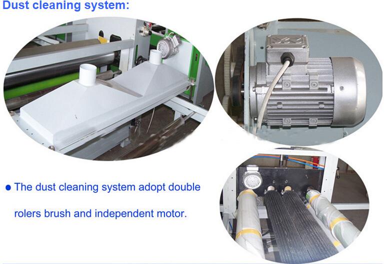 Double Side Veneer/High Gloss PVC Film/Paper Laminating Machine