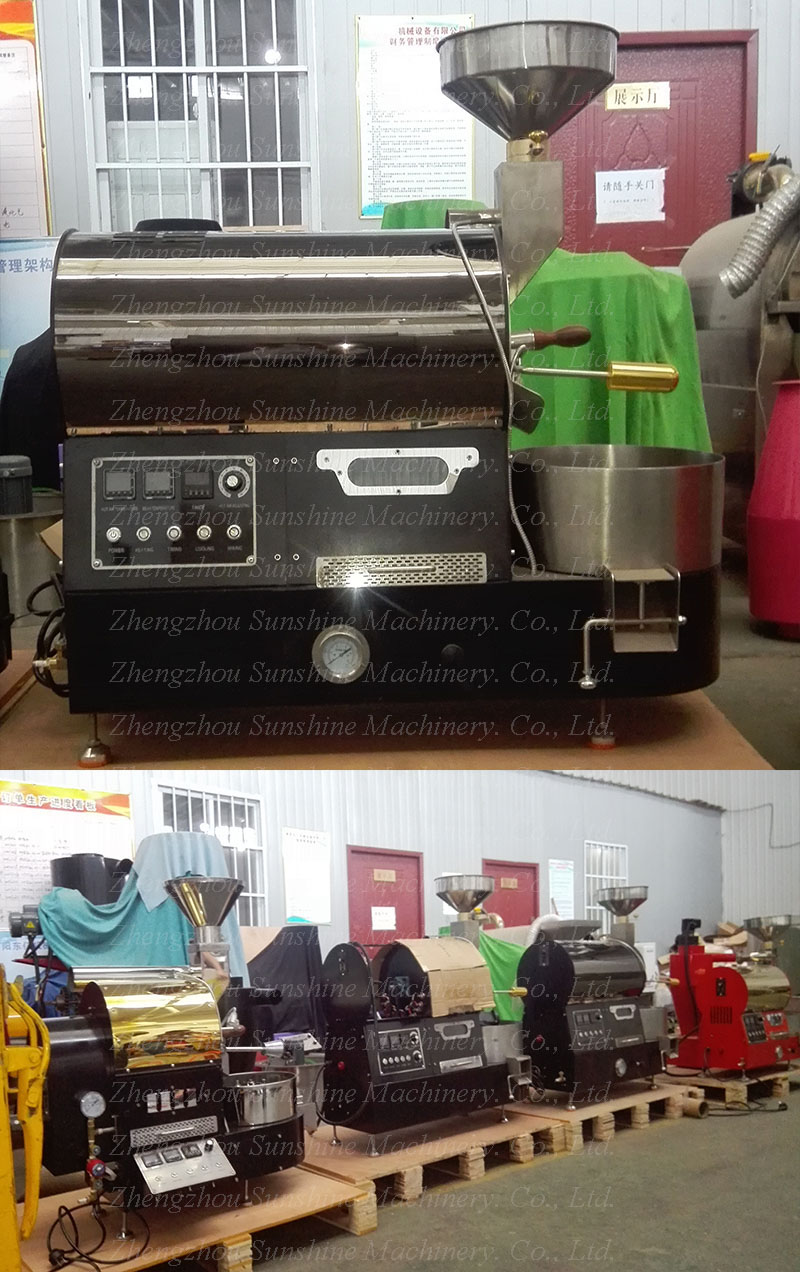 500g Small Coffee Roaster Machine Home Coffee Roaster