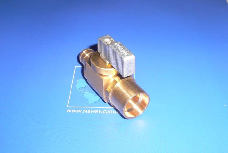 Copper Manifold with Ball Valve