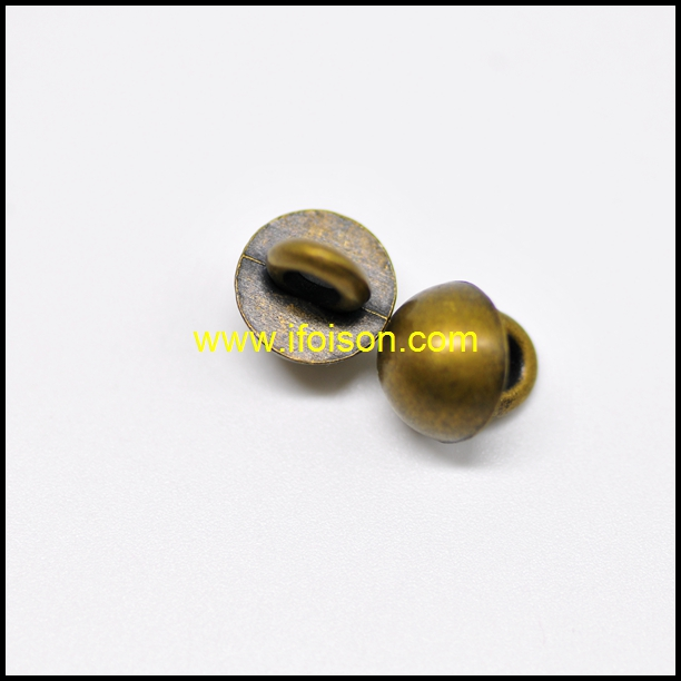 Metal Shank Button in Dome shape