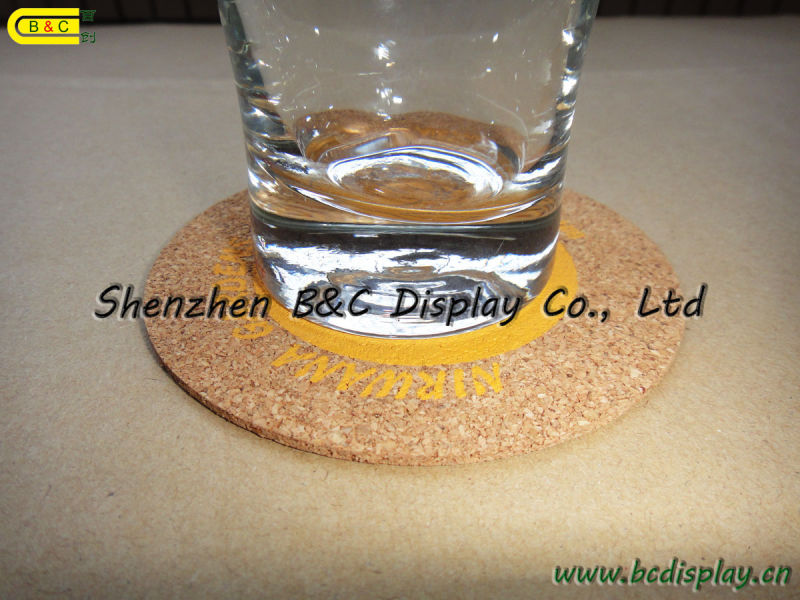 Cork Cup Pad, Cork Placemat, Cork Coaster Set, Cork Coasters (B&C-G075)