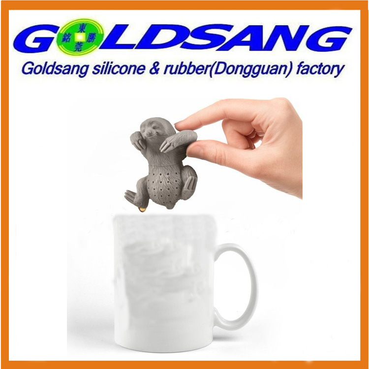 Colorful Sloth Shape Silicone Tea Infuser