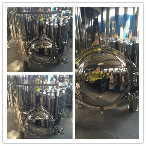 Beer Brewing Equipment Stainless Steel Mush Tun with Manhole