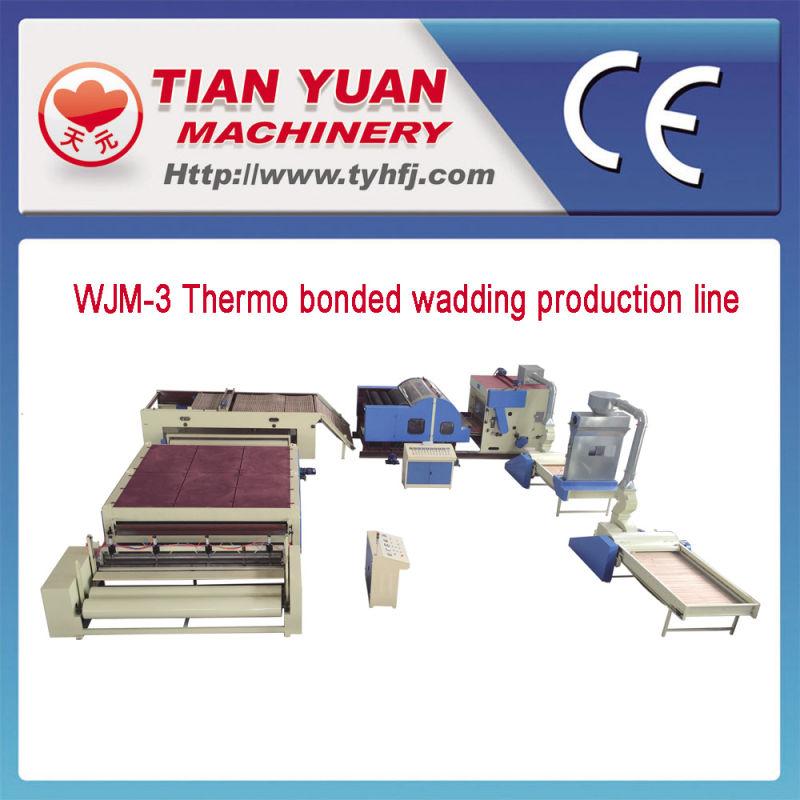 Nonwoven Artificial Fiber Wadding Line (WJM-3)