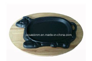 Cast Iron Baking Pan with Cow Shape