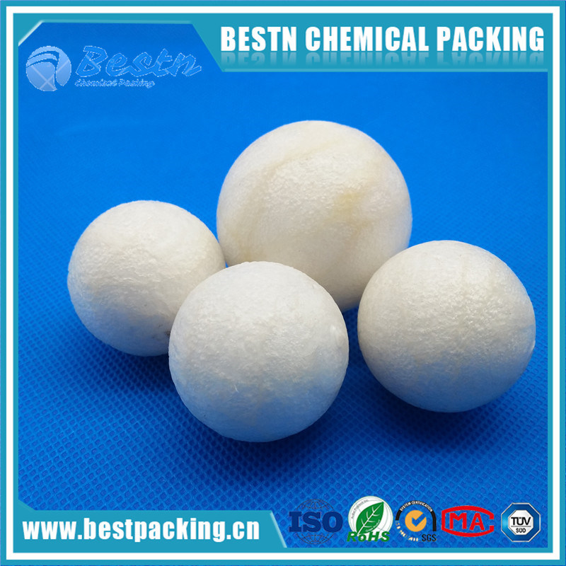 Plastic Floating Water Pool Ball, Liquid Surface Covering Ball with Edges