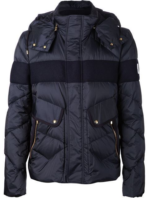 Mens Winter Padded Quilted Jacket with Matte Nylon Fabric