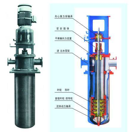Vertical Multistage Barrel Condensate Pump (LDTN)
