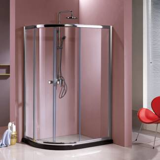 Quadrant Shower Room with Double Side Easy Clean Nano Coating