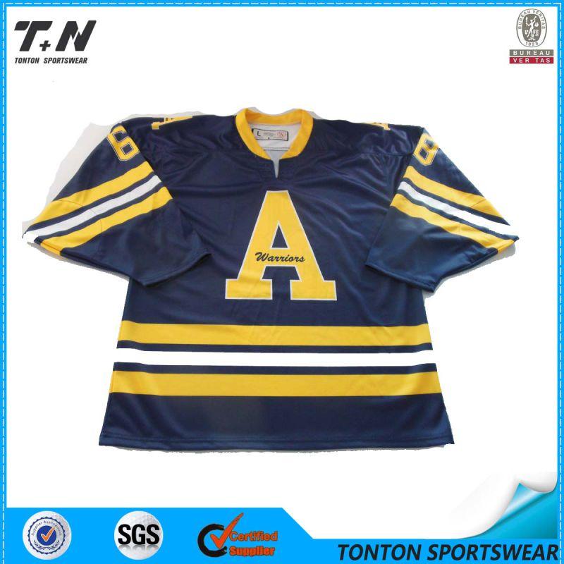 2016 New Professional Sublimation Custom Ice Hockey Jersey (IC03)