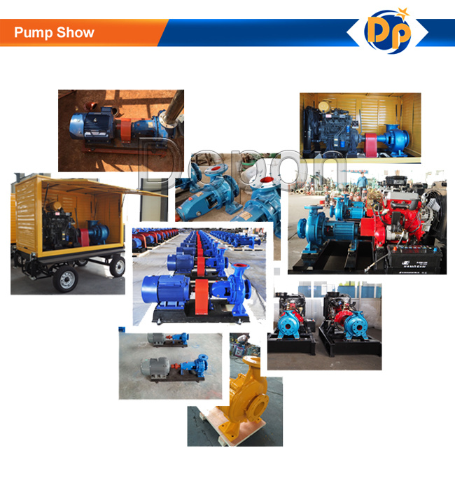End Suction Water Pump Water Pumping Machine