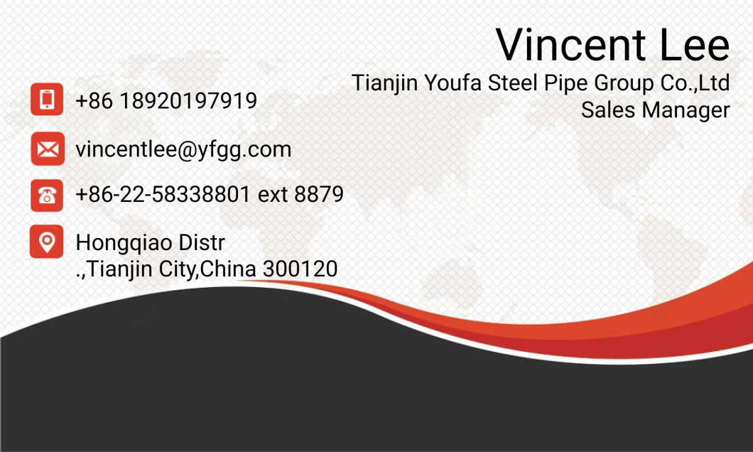 Prime Quality Youfa Manufacturing Galvanized Steel Tube for Construction