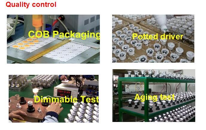 Es ETL Listed 7W Dimmable GU10 LED