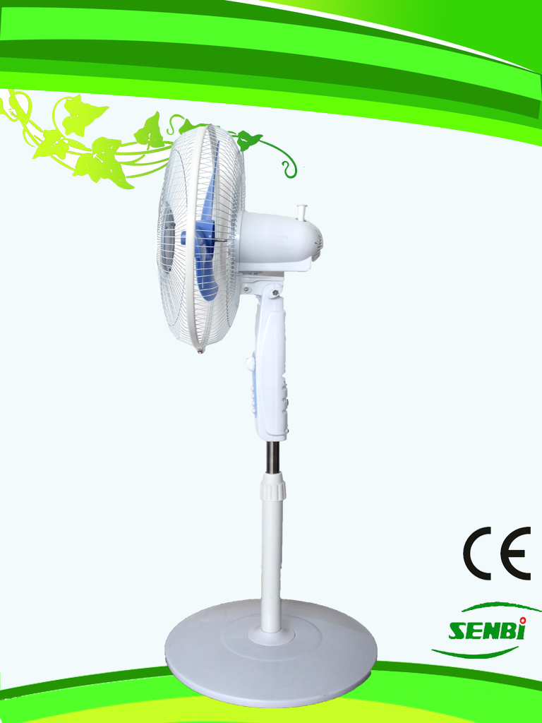 16 Inchs AC110V Fan Stand Fan Solar Fan (SB-SL-AC16C)