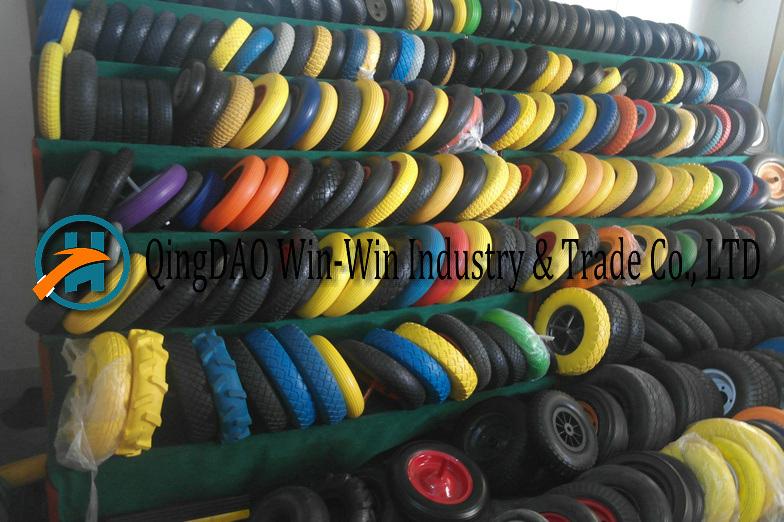 Pneumatic Rubber Wheel Used on Trolley Wheels (4.10/3.50-6)