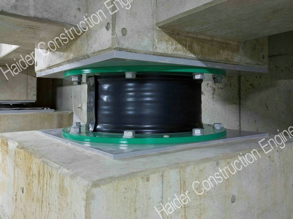 Hdr Bridge Bearing with High Damping Rubber
