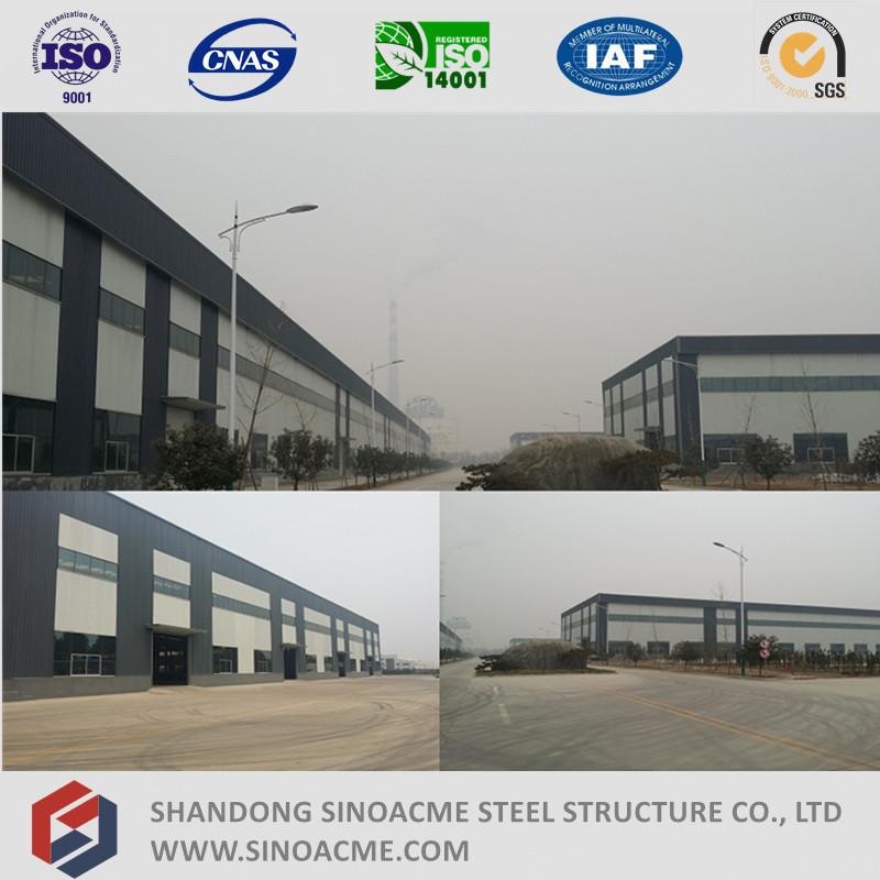 High Rise Lattice Beam Steel Structure Workshop