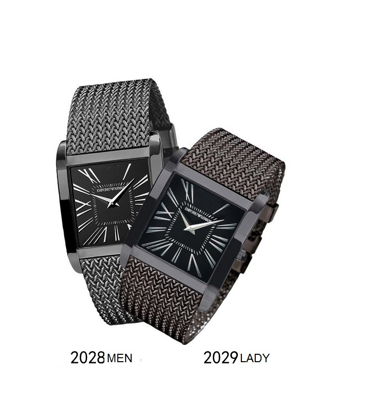 Fashion Steel Watch Pairs
