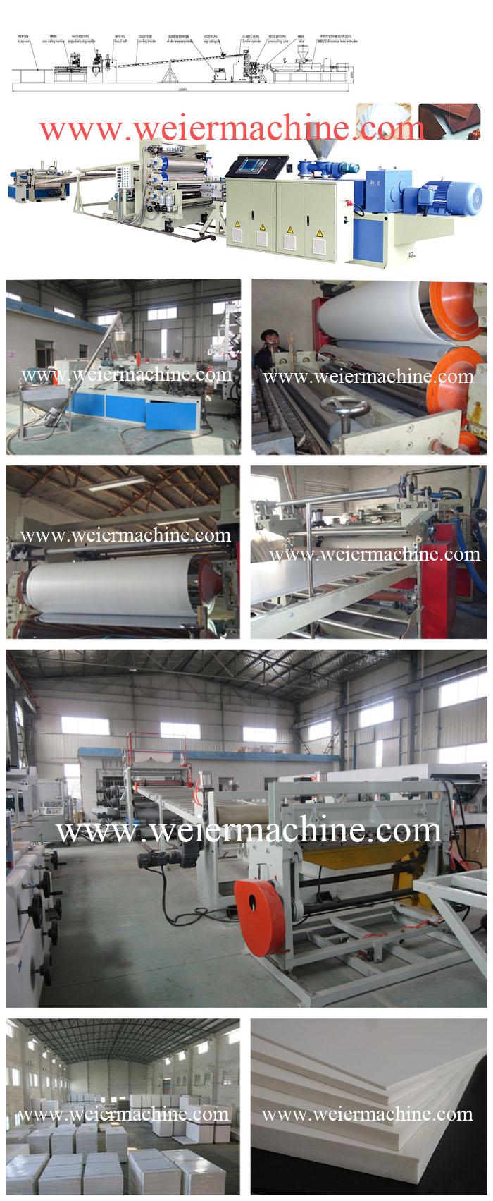 High Quality PVC Celuka Foam Sheet Board Extruding Production Line