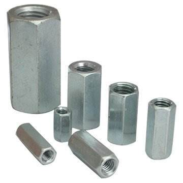 DIN 6334 Stainless Steel Long Hex Coupling Nuts