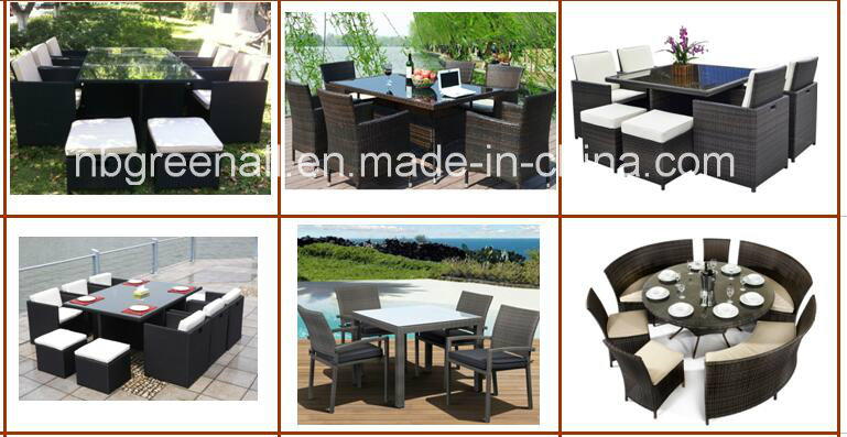 Outdoor Used PE Rattan Garden Furniture Bar Chair (GN-8678D)