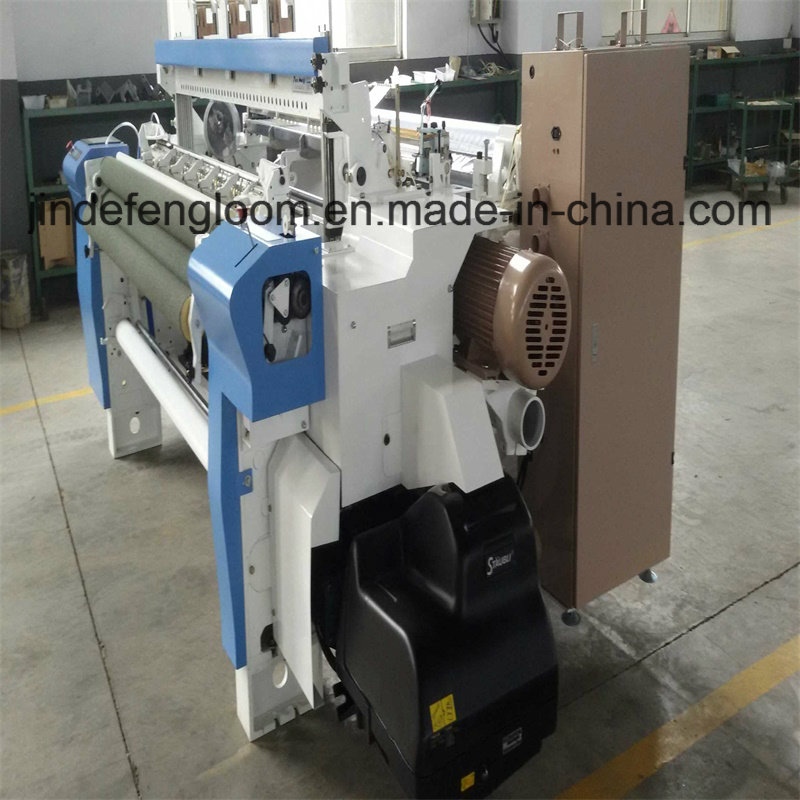 6 Color Weaving Machine Shuttleless Airjet Loom with Cam Shedding