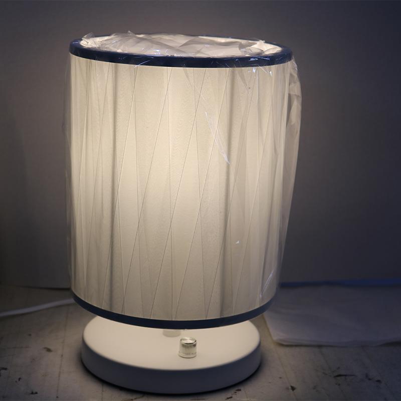 Decorative Antique Brass Concrete Bedside Table/Desk Lamp, Hotel LED Lighting