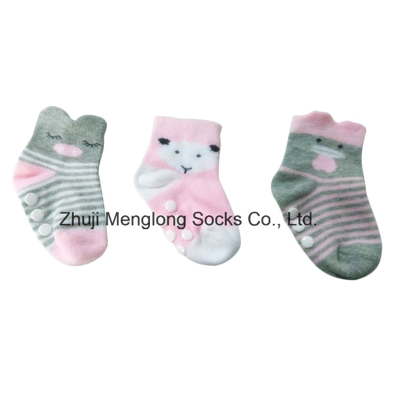 Fashion Cute Infant Girls 3D Socks Cotton Material