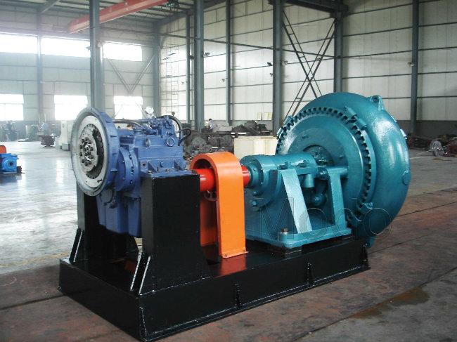 Centrifugal Horizontal Slag Dredge Pump for Mining