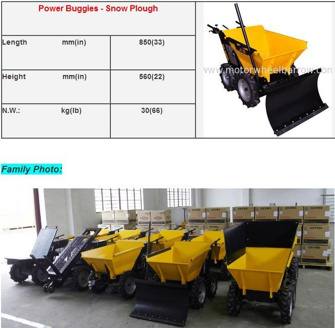 Power Barrow Accessories to Be Multifunction