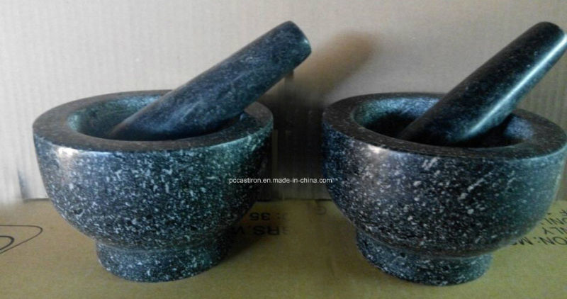 Granite Stone Mortars and Pestles Manufacturer From China Size 13X9cm