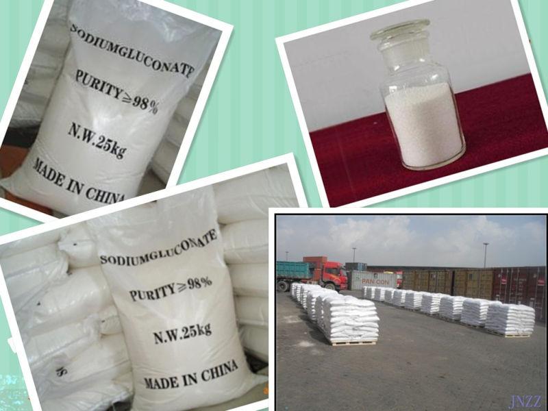 Sodium Gluconate 98% Min Industry Grade