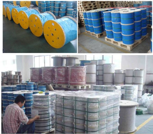 304 Annealed Steel Wire Cable Stainless Steel Wire Ropes