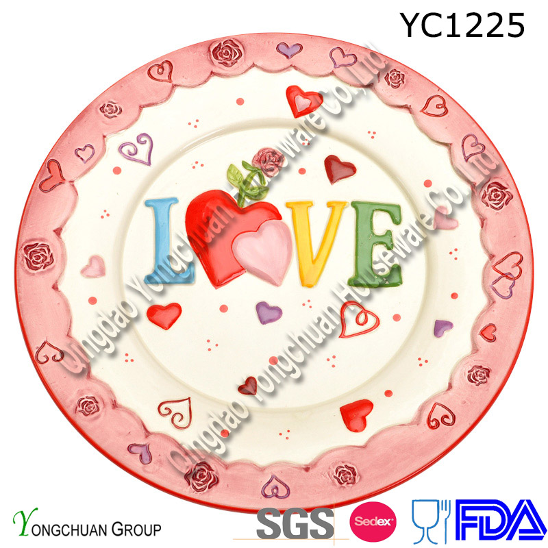 8.5''inch Embossment Plate