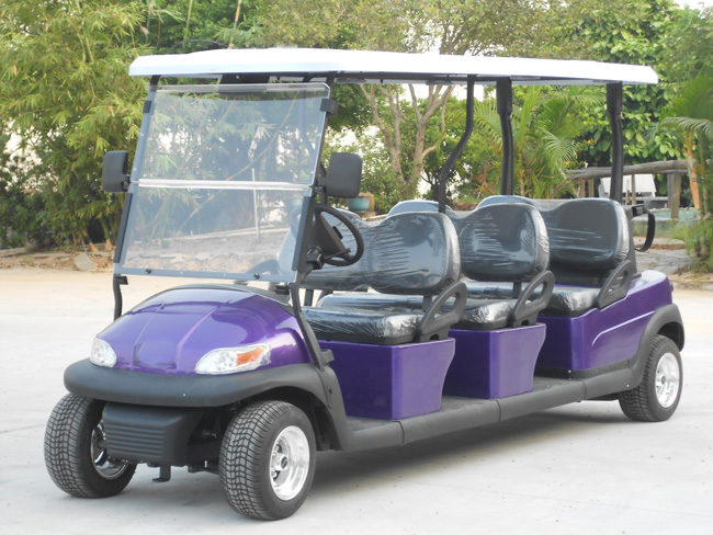 6 Seater Electric Sightseeing Car for Tourist Resort